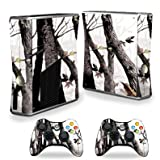 MightySkins Skin Compatible with X-Box 360 Xbox 360 S Console - Artic Camo | Protective, Durable, and Unique Vinyl Decal wrap Cover | Easy to Apply, Remove, and Change Styles | Made in The USA