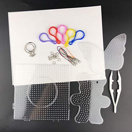 UYGN 5Mm24 / 36 Colores DIY Conjunto De Caja De Juguetes De Hama Beads Pegboard Accessoriesr Fuse Beads para Niños Rompecabezas Rompecabezas Educativo: Amazon.es: Juguetes y juegos