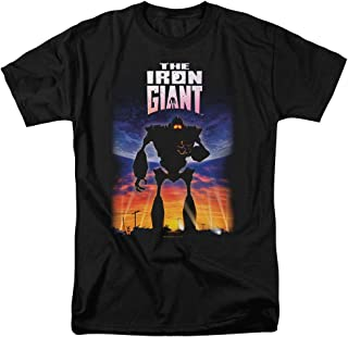 The Iron Giant Poster T Shirt & Stickers