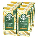 Starbucks Blonde Espresso Roast Coffee Beans 200 g Bag (Pack of 6)