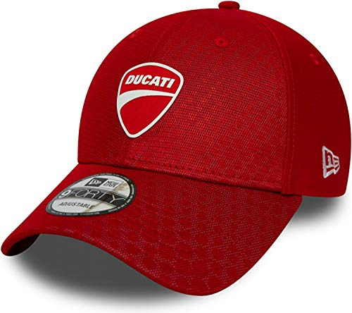 New Era - Ducati FA19 Hex Pattern 9Forty Snapback Cap - Rot Größe One Size, Farbe Rot