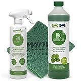 winwin clean Systemische Reinigung - ALLESPUTZER 1000ml INKL. Dosierflasche + UNIVERSALTUCH 32cm x 32 cm - Sie Werden begeistert Sein - -