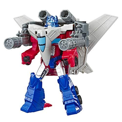 Transformers- Cyberverse Spark Armor Optimus Prime (Hasbro E4328ES0) , Color/Modelo Surtido