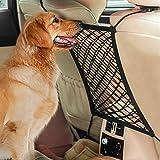 AUTOWN Car Dog Barrier, Dog Net for Car Between Seats, Pet Net Barrier Front Seat, Car Mesh Barrier...