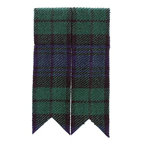 The Scotland Kilt Company Schwarze Uhr Schottenrock Schlauch Blitze – Synthetik Wolle