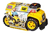 Mega Cat 3 in 1 Excavator Ride On, Multi Color toddler ride on toys Apr, 2021