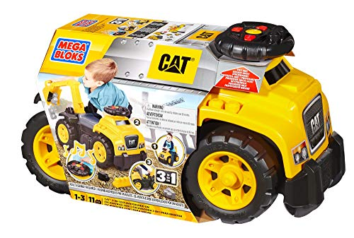 Mega Bloks Cat 3-in-1 Ride-on, Yellow, Standard (DCH13)