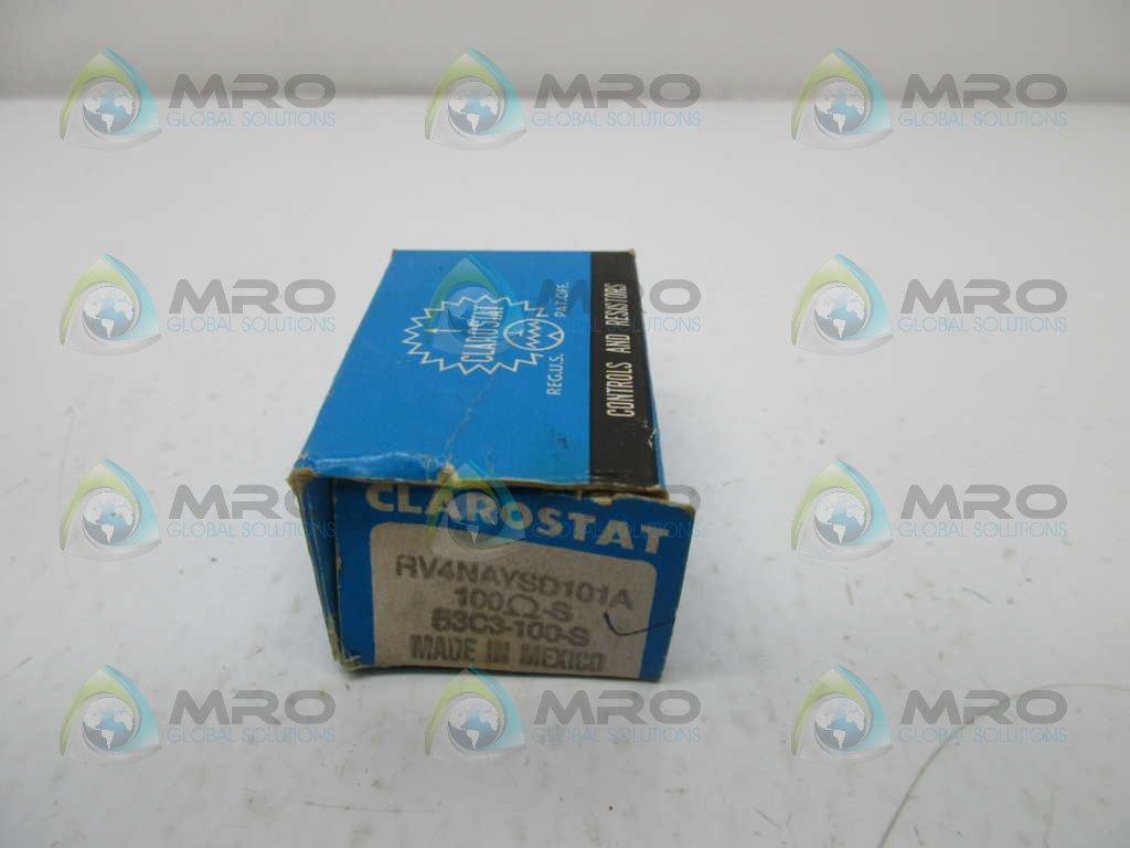 Clarostat RV4NAYSD101A Potentiometer Solder Lug mm Raleigh Attention brand Mall 6.35 Shaft