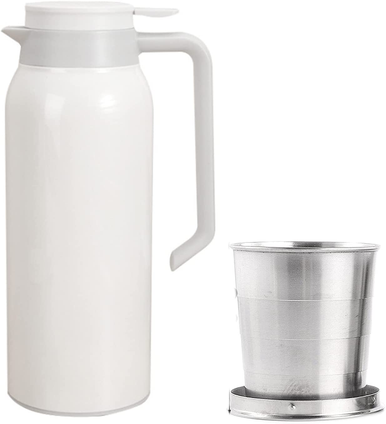 FDQNDXF Coffee Carafe 51 Max 90% OFF oz Insulated Stainless Steel Popular brand in the world Du
