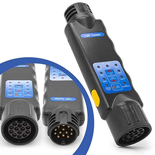 KFZ DIN Prüfgerät Anhänger Licht Beleuchtung Tester 13 Polig Trailer Prüfer