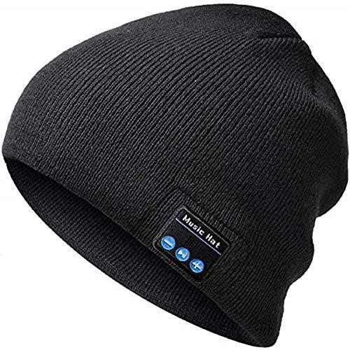 Bluetooth Mütze Geschenke für Männer & Frauen - Wintermütze Herren mit Bluetooth 5.0 Kopfhörern, Unisex Musik Mütze Beanie Weihnachten Geschenke für Männer/Fraue/Mama/Papa/Sie/Ihn/Jungen/Mädchen