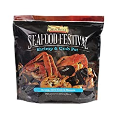 Contains Snow Crab, Shrimp and Mussels Mild, sweet flavor Includes seasoning Quick cooking. Trans fat is zero Excellent source of protein Snow Crab: Wild caught in Canada Shrimp: Farm raised in Indonesia Mussels: Farm raised in Chile