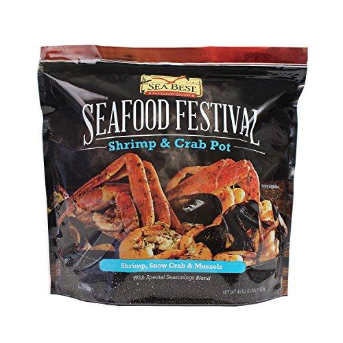 Sea Best Seafood Festival Shrimp and Crab Pot, 3 Pound