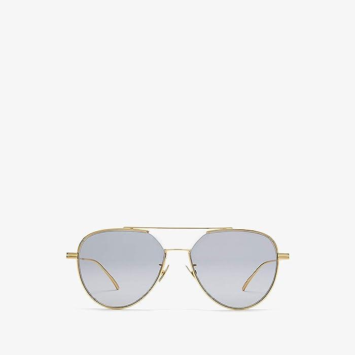 Bottega Veneta  BV1013SK (Gold) Fashion Sunglasses