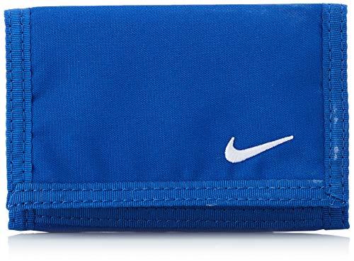 Nike Erwachsene BASIC WALLET Geldbeutel, blau, One size