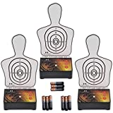 Interactive Multi Target Training System (3 Pack) - Use alone or as an add-on to another Laser Ammo package to create countless training scenarios & simulated match stages in the comfort of your home