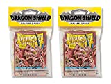 Dragon Shield Bundle: 2 Packs of 50 Count Japanese Size Mini Card Sleeves - Fusion Color