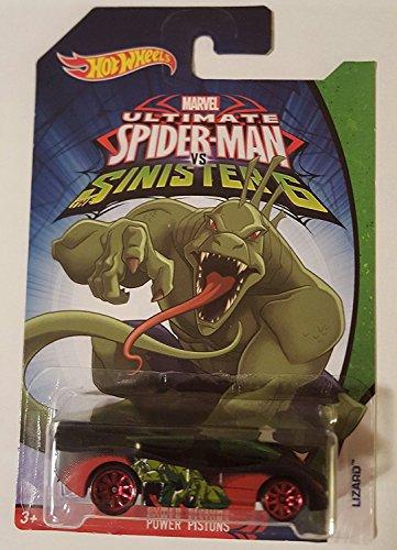 Hot Wheels Ultimate Spider-Man: Puissance Pistons (Lezard)
