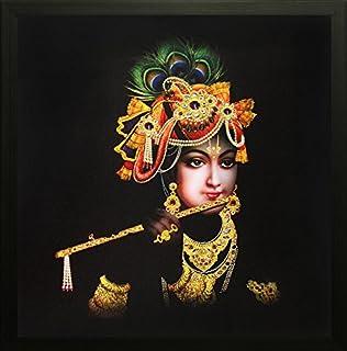 SAF Radha krishna Krishna Painting || krishna painting || Krishna poster || Krishna wall stickers || SAF exclusive Framed ...