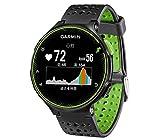 関連アイテム:GARMIN(ガーミン) ランニングウォッチ 時計 GPS 心拍計 VO2Max ライフログ 50m防水 ForeAthlete 235J ブラック×グリーン 【日本正規品】 FA235J 37176K