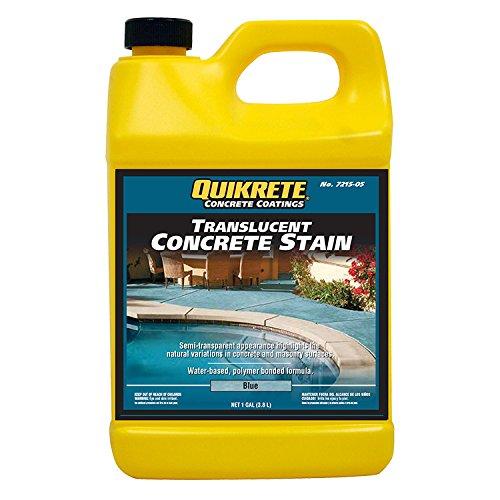 Quikrete Translucent Concrete Stain Blue gal