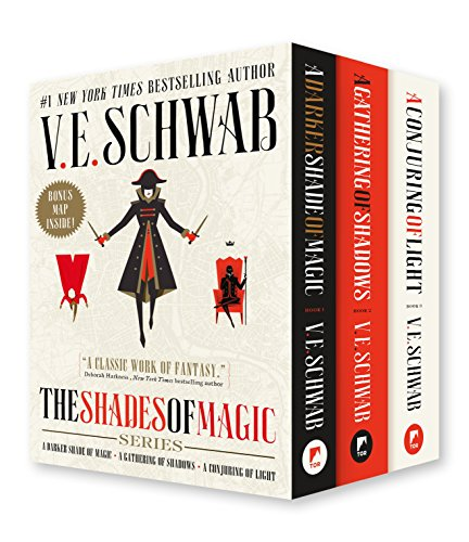 Compare Textbook Prices for Shades of Magic Boxed Set: A Darker Shade of Magic, A Gathering of Shadows, A Conjuring of Light  ISBN 9781250175205 by Schwab, V. E.