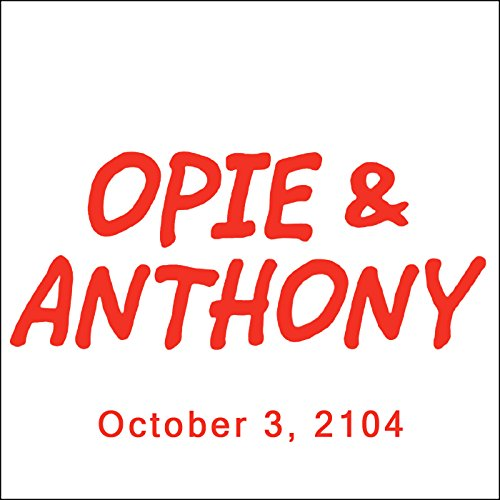 Opie & Anthony, October 3, 2014 audiobook cover art