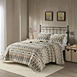 Woolrich Reversible Quilt Cabin Lifestyle Design All Season, Breathable Coverlet Bedspread...