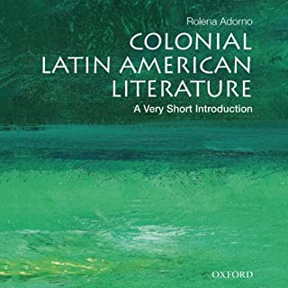 Colonial Latin American Literature: A Very Short Introduction  cover art