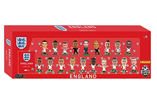 SoccerStarz ENGTP18 England 19 Spieler Team Pack 2018 Edition Figur