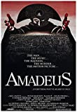 Amadeus Movie Poster 24 x 36 Inches Full Sized Print Unframed Ready for Display