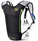 U`Be Hydration Pack Water Backpack - Camelback for Running Hiking Biking - Camel Backpack with 2l Water Bladder (Hipack)