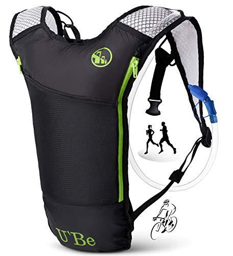 U`Be Hydration Pack Water Backpack - Running Hiking Cycling Mountain Biking Camelback...
