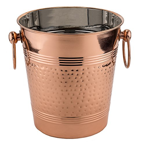 Copper Hammered Wine Cooler