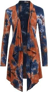 Kimono Irregular Hem Cardigan for Women Long Sleeve Blouse Loose