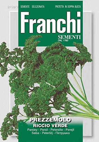 Petersilie Riccio Verde von Franchi Sementi