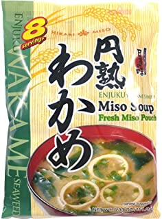 Hikari Miso Instant Miso Soup, Wakame Seaweed, 5.14 Ounce