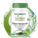 Extracto de Té Verde 750mg - Descafeinado - Dosis elevada -