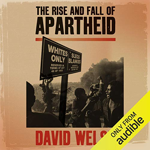 『The Rise and Fall of Apartheid』のカバーアート