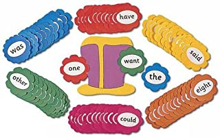 Jolly Phonics Tricky Word Wall Flowers: in Print Letters
