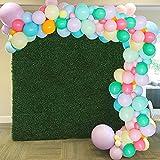 MMTX Globos Pastel Kit de Guirnalda Látex Conjunto de Cumpleaños Decoraciones Fiesta Cumpleaños para Fiestas de cumpleaños Niño Baby Shower Aniversario Decoración de Boda Globos Comunion