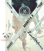 MONSTA X-[BEAUTIFUL] 1st Album BRILLIANT VER. CD+Photobook+Lyrics Booklet+PhotoCards+Stickers+Paper SEALED