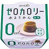 遠藤製餡 Nゼロカロリー水ようかん抹茶 90g×6個