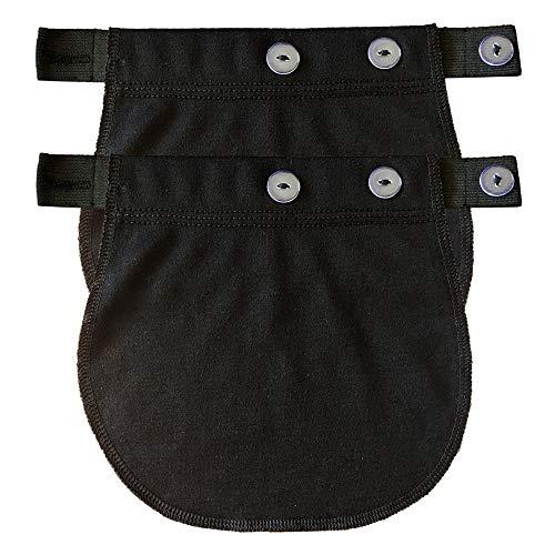 Cinturón de Embarazo Extensión 2 Piezas Negro