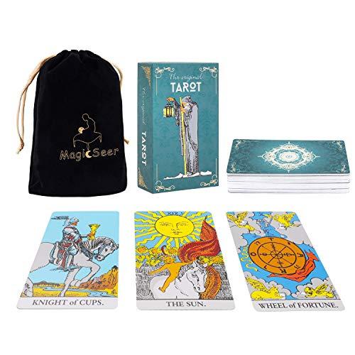 MagicSeer Large Tarot Cards and Guidebook-Original...