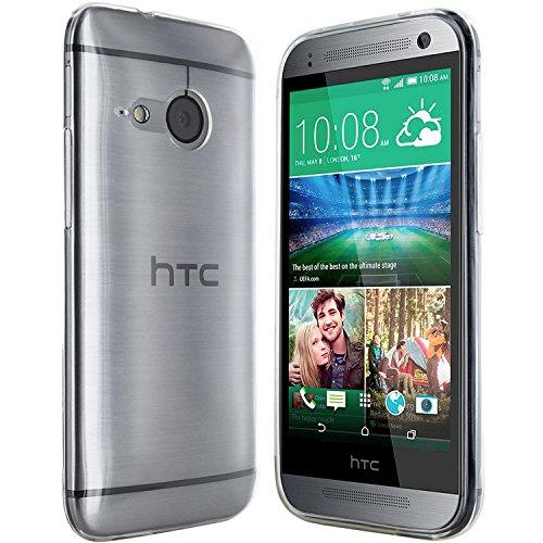 moodie Silikonhülle für HTC One Mini 2 Hülle in Transparent - Hülle Schutzhülle Tasche für HTC One Mini M8