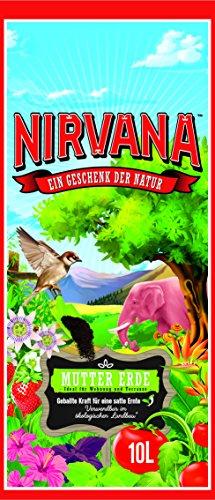 Nirvana Mutter Erde , Nährstoffreiche Premium Pflanzerde mit besonderen natürlichen Zutaten, 10 L Sack