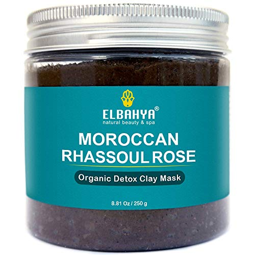 ELBAHAYA ORGANIC RHASSOUL WITH ROSE WATER