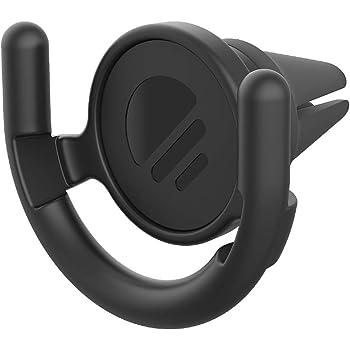 PopSockets - Support de Ventilation Mains-Libres pour Smartphones et Tablets [PopGrip Non Inclus] - Black