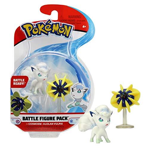 Giochi Preziosi Pokemon mit 2 Figuren, Cosmoem Alolan und Vulpix